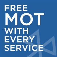 Free MOT With Every Service